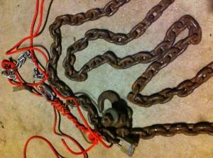 Wrangler's chains