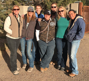 NMDOG Volunteers During Winter 2015 Outreach