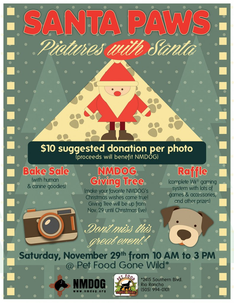 Santa Paws Flyer 2013