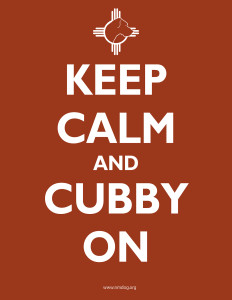 Keep Calm and Cubby On