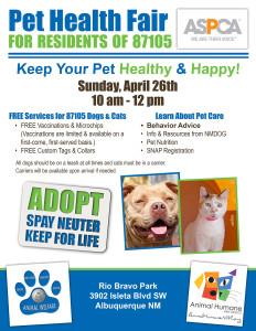 Pet Health Fair Flyer-1