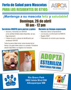 Pet Health Fair Flyer-2
