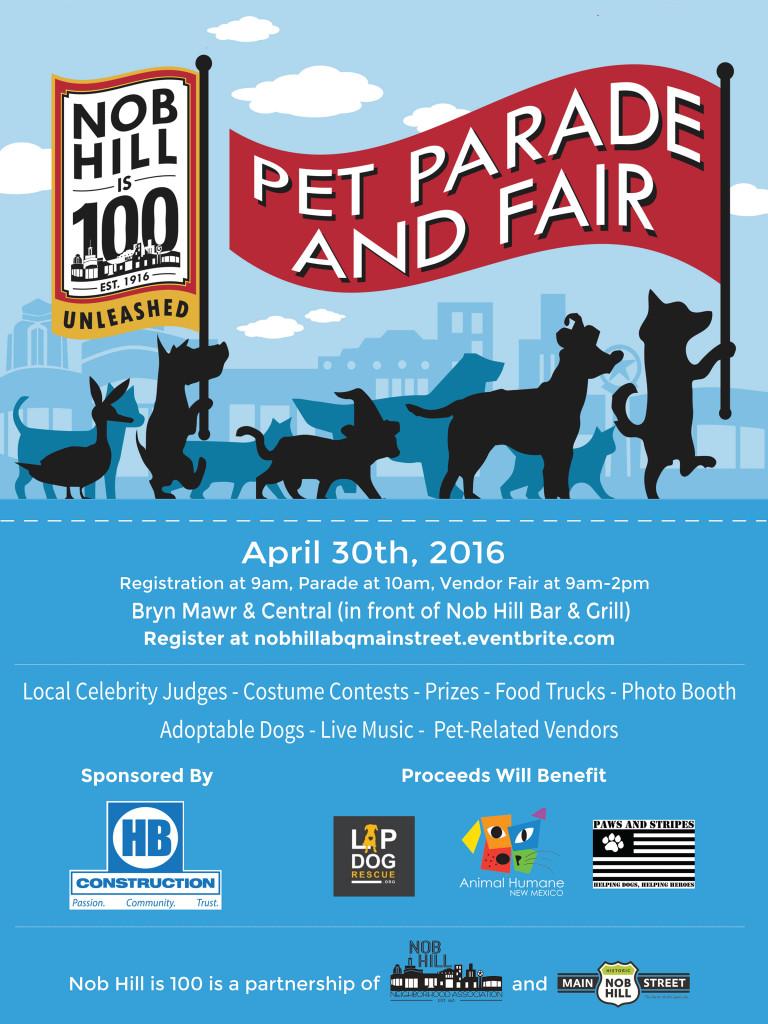 Pet Parade Poster