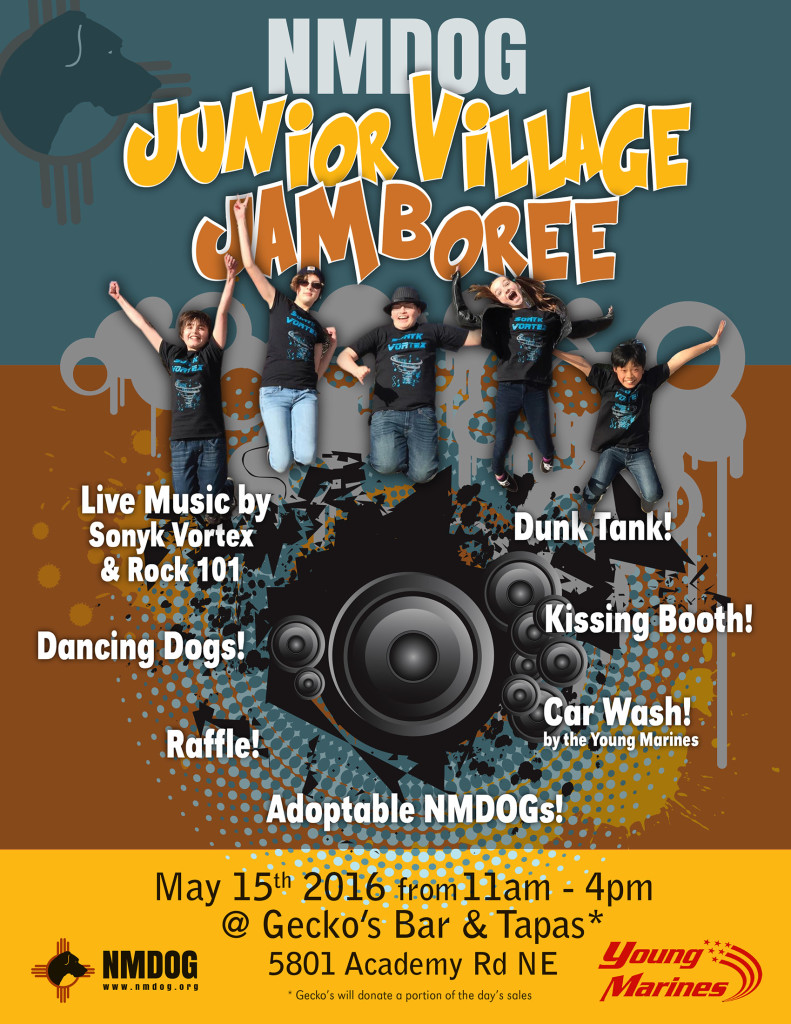 NMDOG Junior Village Jamboree @ Gecko's Bar & Tapas | Albuquerque | New Mexico | United States