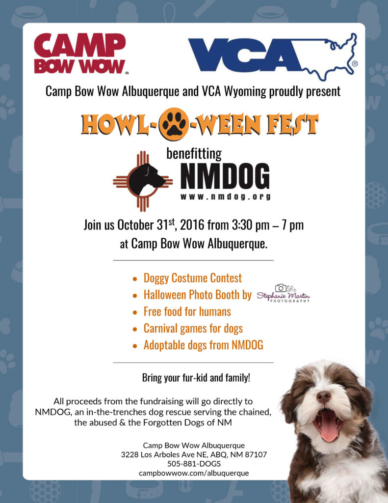 Howl-O-Ween Fest @ Camp Bow Wow | Albuquerque | New Mexico | United States