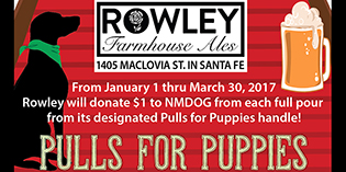 Pulls for Puppies at Rowley Farmhouse Ales