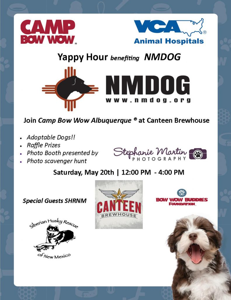 Yappy Hour benefiting NMDOG @ Canteen Brewhouse | Albuquerque | New Mexico | United States