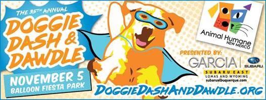 Doggie Dash and Dawdle @ Balloon Fiesta Park | Albuquerque | New Mexico | United States