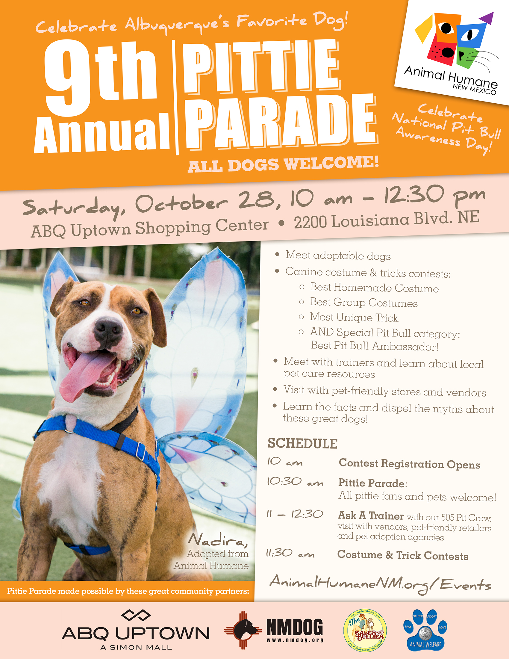 9th Annual Pittie Parade NMDOG