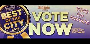 "Vote NMDOG ""Best of the City"""
