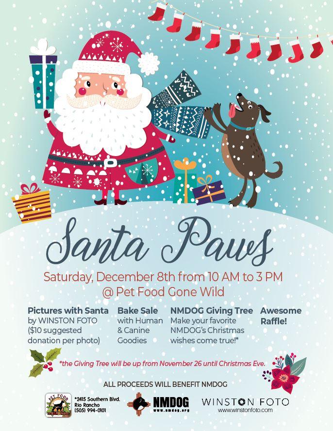 Santa Paws Nmdog