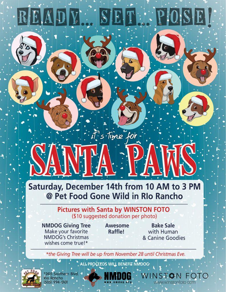 Santa Paws @ Pet Food Gone Wild